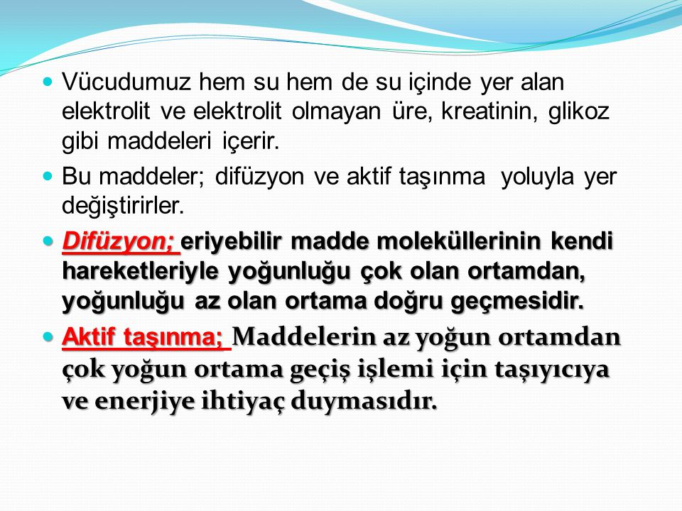ELEKTROLİT DENGESİZLİKLERİ Elektrolit; su gibi bir çözücüde, iyon adı verilen farklı elektrik yüklü partiküllere ayrılan, atomlardan oluşan bir madde-bileşik olarak tanımlanır.