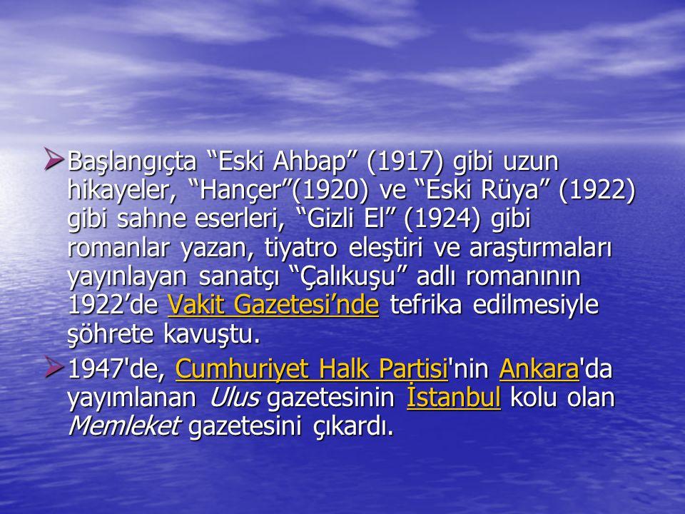 E. Gezi Yazısı  Anadolu Notları