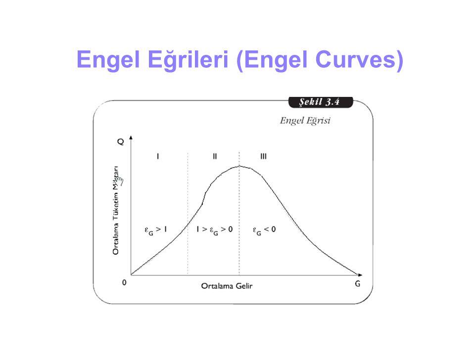 Engel Eğrileri (Engel Curves)