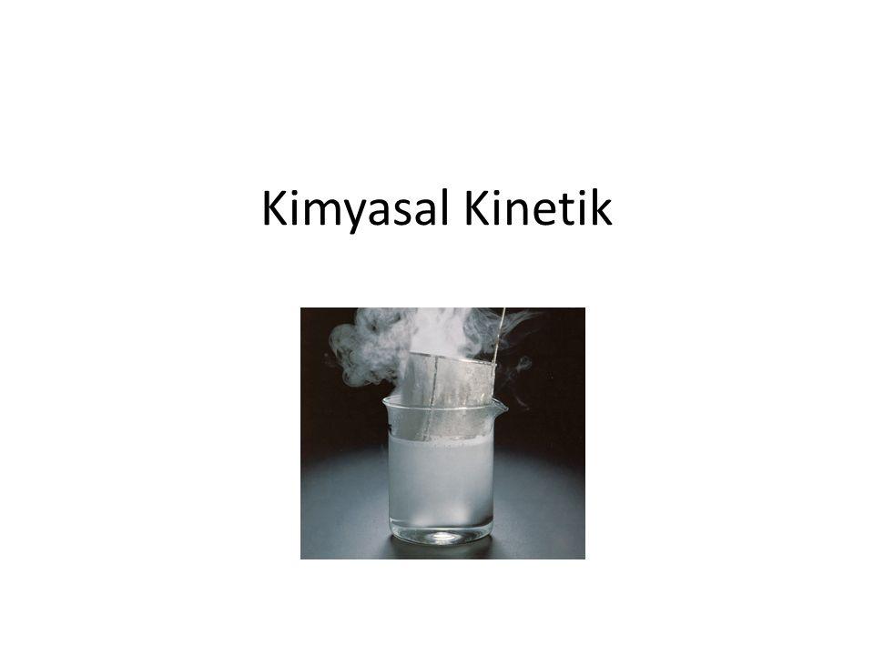 Kimyasal Kinetik
