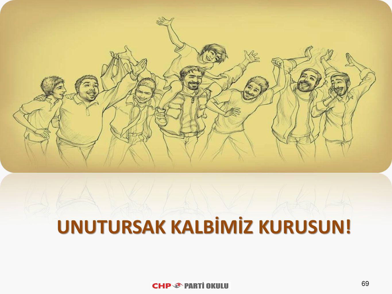 69 UNUTURSAK KALBİMİZ KURUSUN!