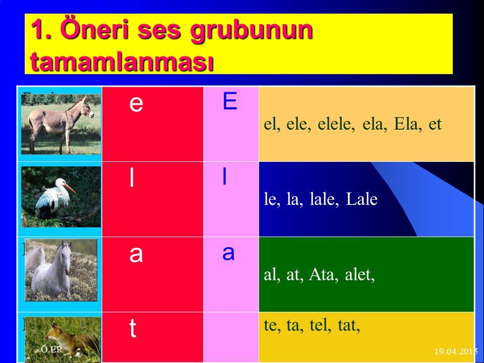 4-Büyük harflerin öğrenilmesi 5-Öğrencilerinizin tahta üzerinde yazmalarını, kılavuz yazı üzerinde yazmalarını sağlayınız.