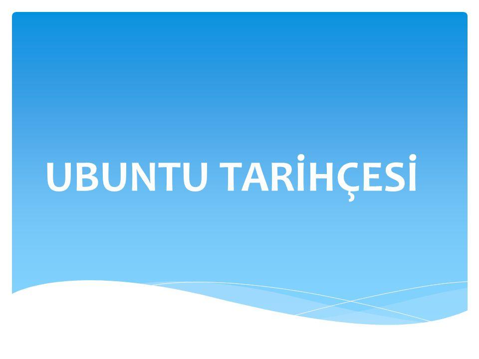  Masa üstü sol menüsünde kurulu olarak gelen yardımcı programlar Ubuntu kullanımını kolaylaştırıyor Ubuntu İşletim Sistemi İçeriği