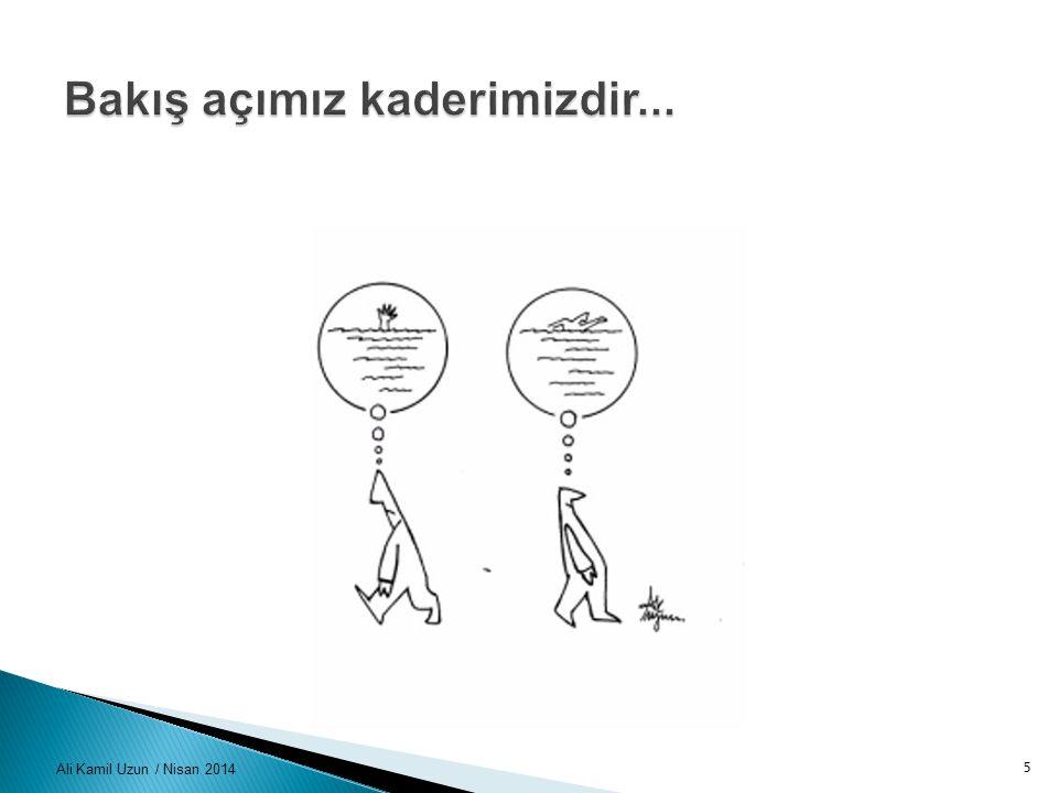 Ali Kamil Uzun / Nisan 201426 Görüş ve öneriler Kollektif Süreç Öğrenme ve Değişim Süreci Geçiş ve Uyum Maliyeti Sistematik Olma Doğru İş ve Çözüm Ortaklıkları Rekabet ve Farklılaşma Süreci Motivasyon ve İletişim Sürdürülebilirliğin Güvencesi Katma Değer Yaratma Proaktif Olma Vizyon