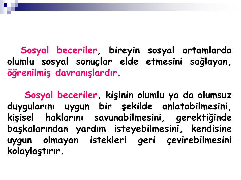 SOSYAL YETERSİZLİK-SALDIRGAN DAVRANIŞLAR 2.