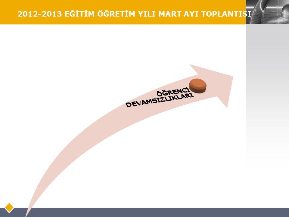 LOGO 2012-2013 EĞİTİM ÖĞRETİM YILI MART AYI TOPLANTISI