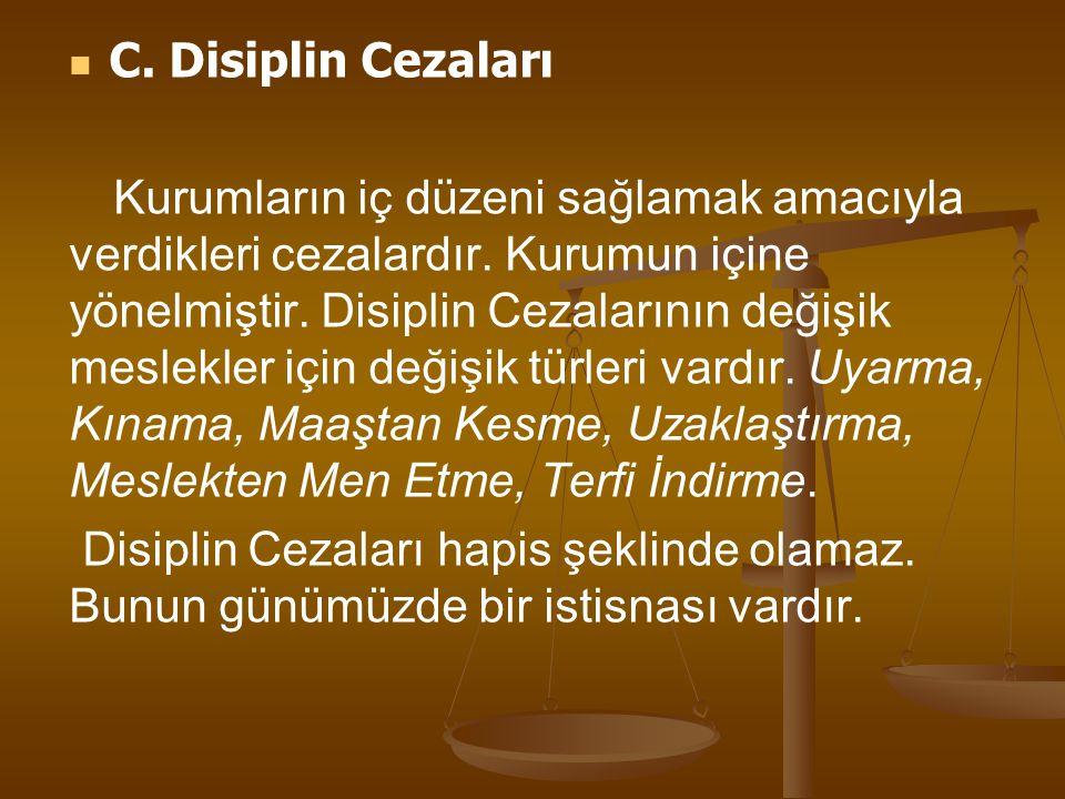 Adli Disiplinde Nezaret Hapsi Cezaları: Hakimler düzeni bozan (izleyiciler de dahil) kişileri salondan atabileceği gibi, bazı koşullarda nezarete de attırabilir.