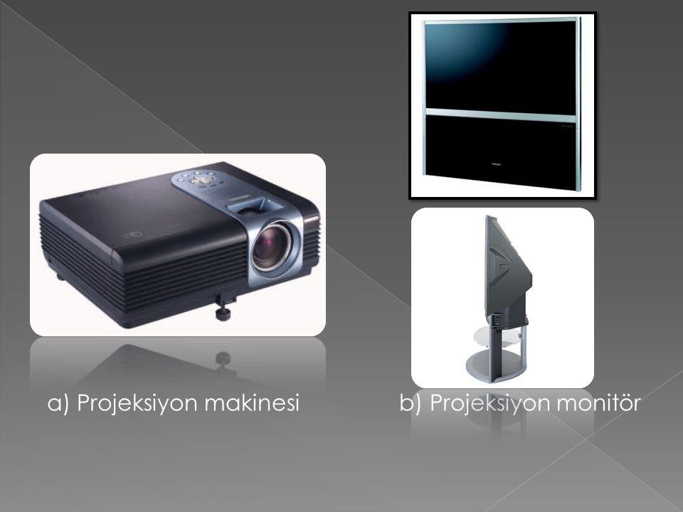 Bu konnektörlerden resim bilgisi 3 ayrı kanaldan gönderilmektedir.
