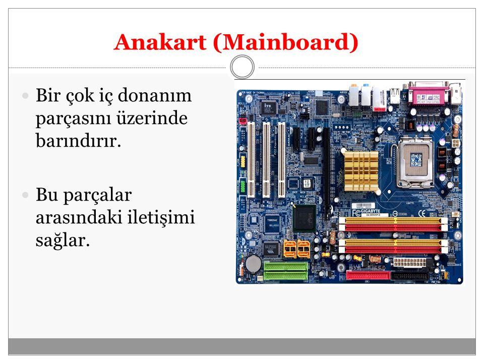 Bilgisayarın en önemli bileşenidir.Tüm mantıksal ve matematiksel işlemlerin yapıldığı yerdir.