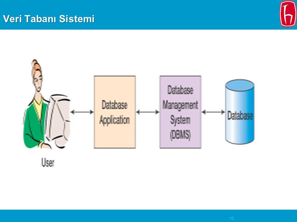 15 Veri Tabanı Sistemi