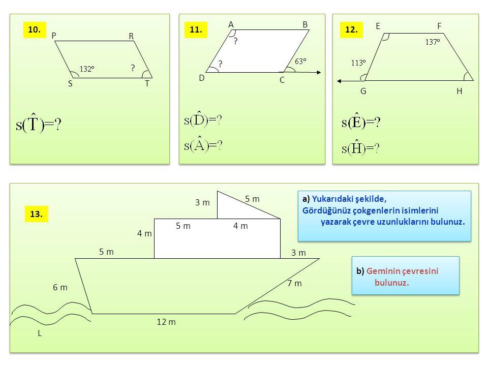 D K NC L M A B Şekildeki KLMN ve ABCD dörtgenleri birer karedir.IABI =8 cm, IKNI = 4 cm ise taralı şeklin çevresinin uzunluğu kaç cm dir.