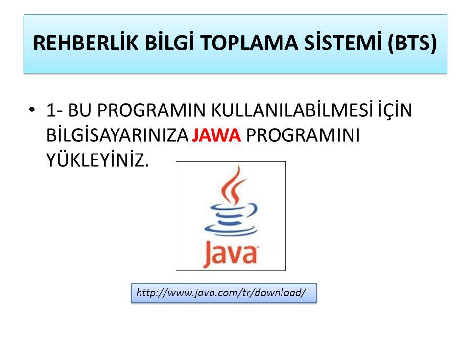 2- İNTERNET SAĞLAYICINIZIN girişine http://erzurumrambts.com adresi yazılmalıdır..