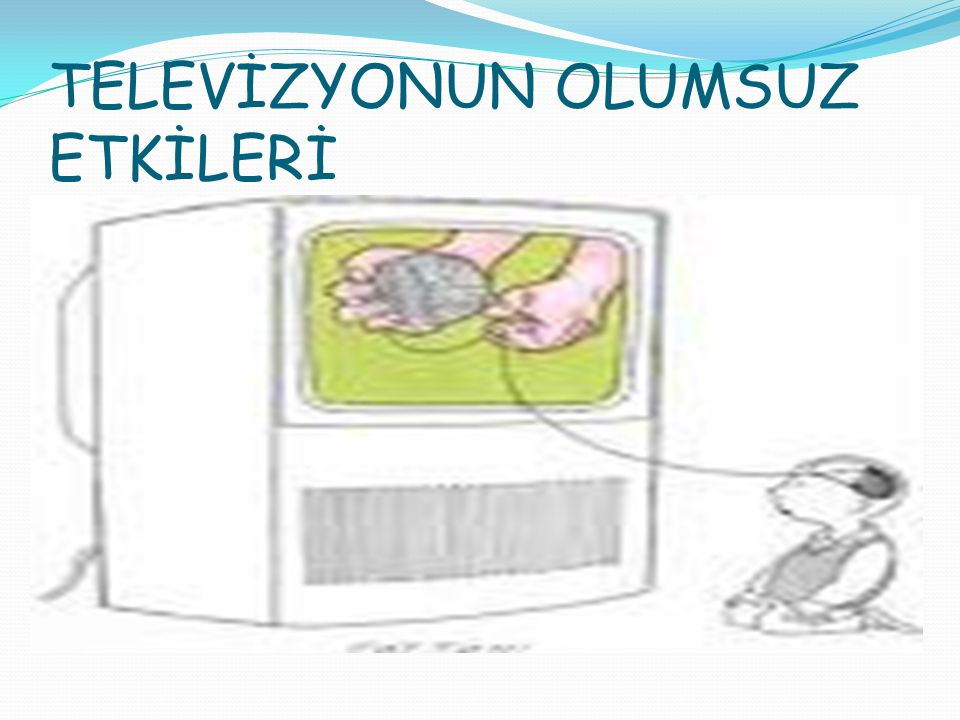TV İzleyen çocuk sadece bilgi almaya alışır ve etkileşime giremez.