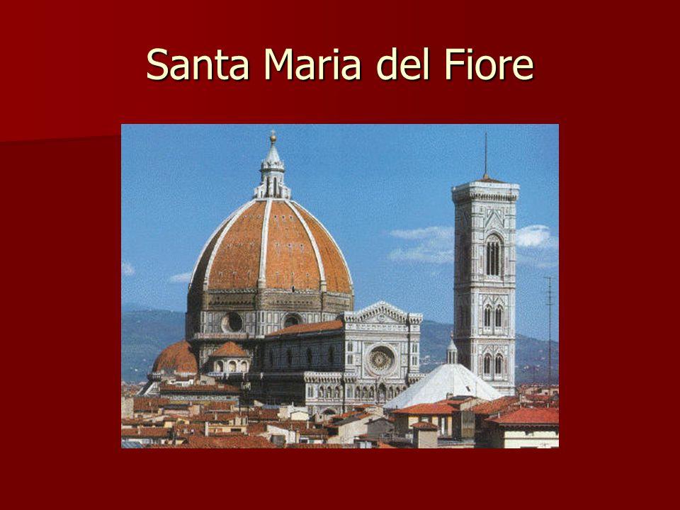 Brunelleschi Sanat Maria del Fiore inşası Sanat Maria del Fiore inşası Medici ailesinin onu iflastan kurtarması sonucu yaptığı Medici ailesinin onu iflastan kurtarması sonucu yaptığı 1418de açılan bir yarışma sonucu 1418de açılan bir yarışma sonucu Heykelde de usta Floransada kubbeye akan eserlerden biri Heykelde de usta Floransada kubbeye akan eserlerden biri