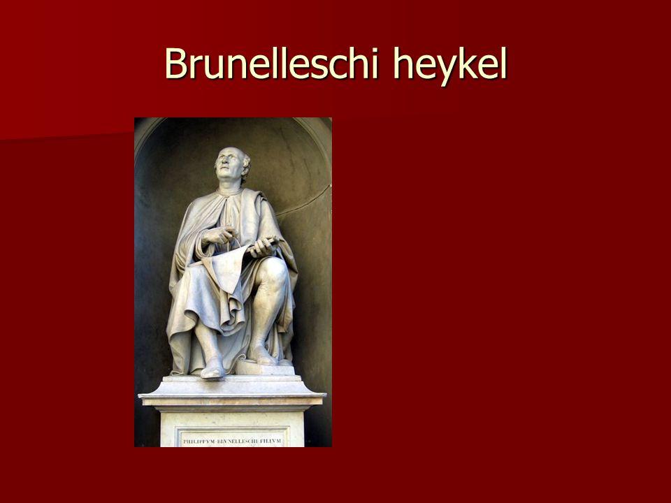 Kaynak King, Ross (2001).Brunelleschi s Dome: How a Renaissance Genius Reinvented Architecture.