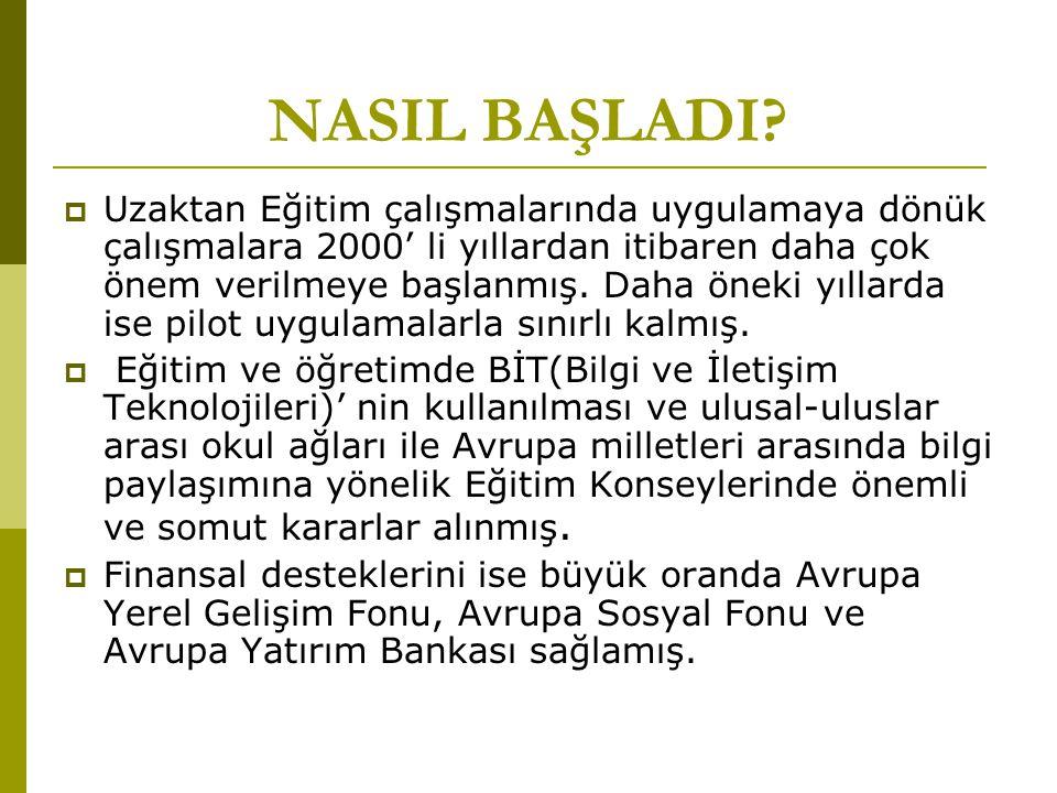 NASIL BAŞLADI.