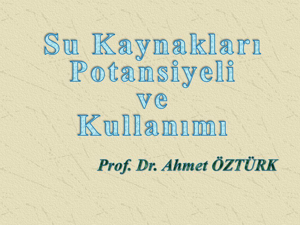 HaftaKonu 1 Tarımsal Yapılar ve Sulamanın Tanımı ve Uygulama Alanları Prof.