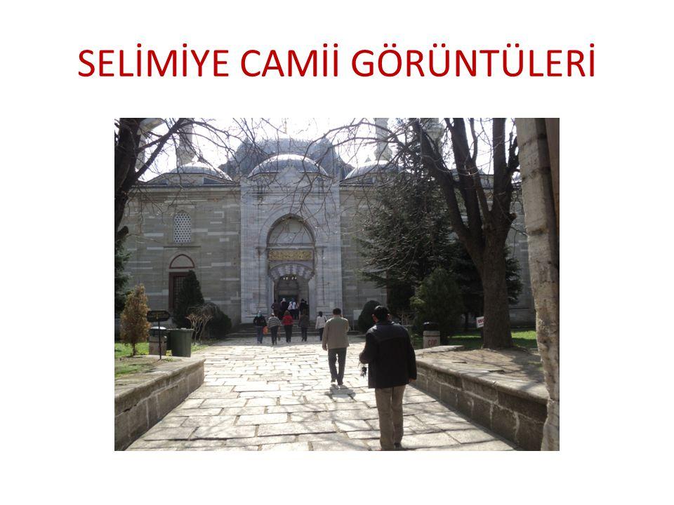 """SELİMİYE CAMİİ Mimar Sinan'ın 80 yaşında yaptığı """"ustalık eserim"""" dediği anıtsal yapı Osmanlı Türk sanatının ve Dünya Mimarlık tarihinin baş yapıtları"""