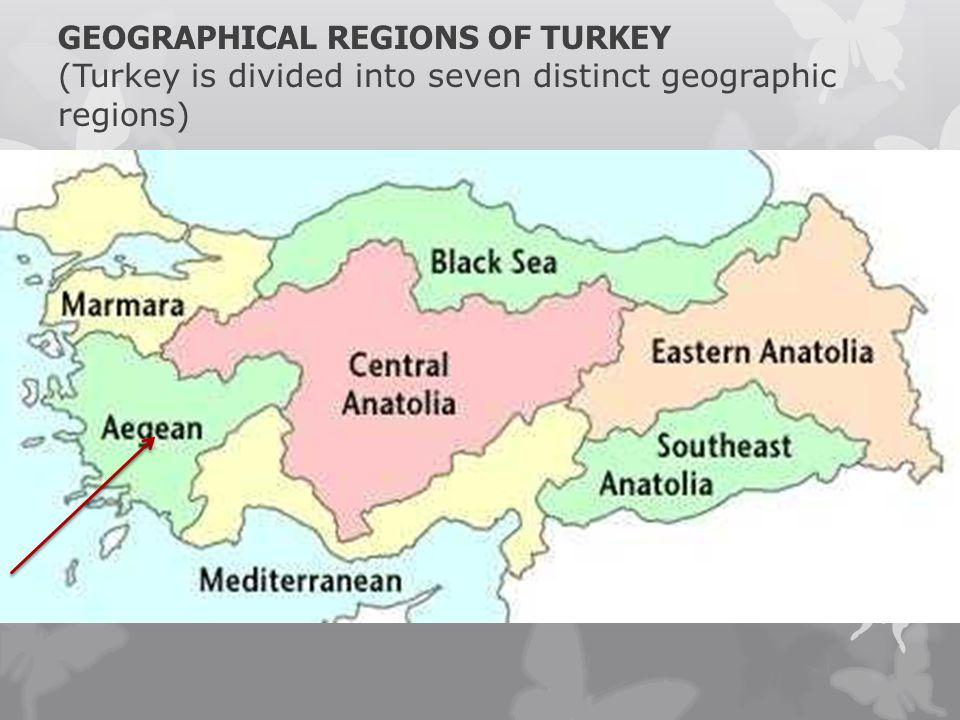 MY REGION AEGEAN REGION NAZ İ LL İ AEGEAN REGION There are seven regions in Turkey.