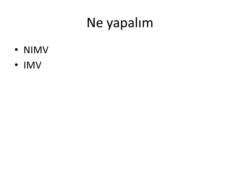 Ne yapalım NIMV IMV