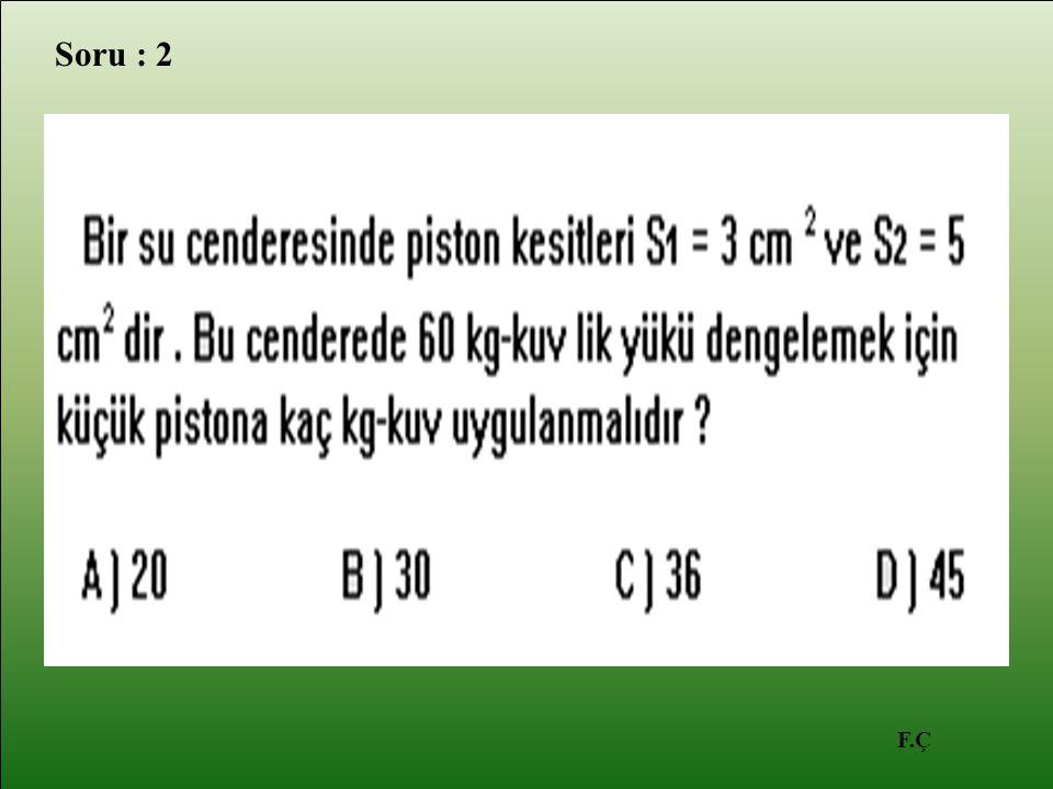 F.Ç Soru : 2