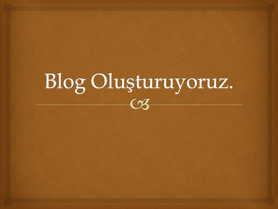   Profesyonel bir blog kurmadan önce ücretsiz blog ile acemiliğinizi atmanız çok faydalı olacaktır.