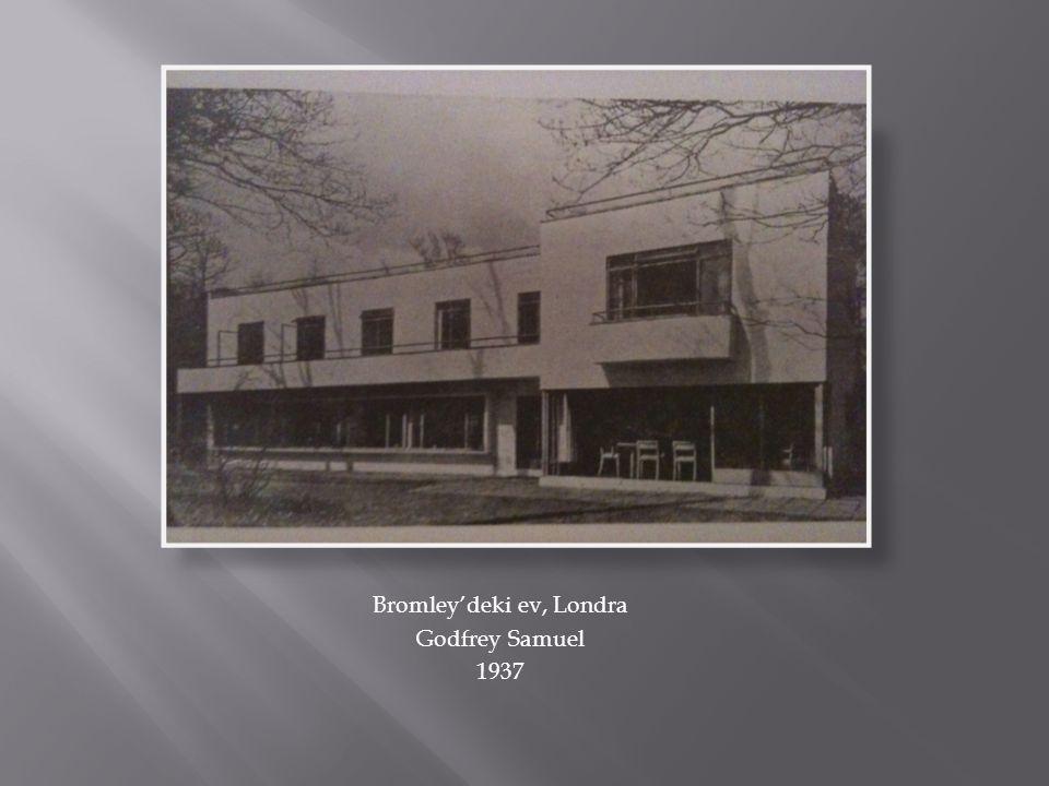 Bromley'deki ev, Londra Godfrey Samuel 1937
