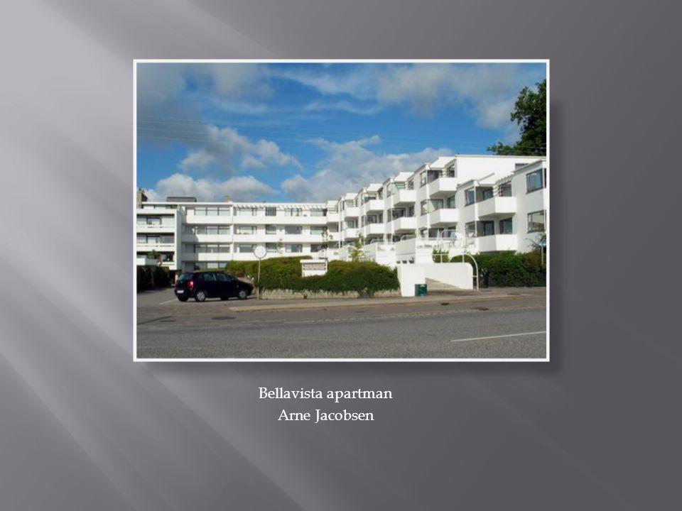 Bellavista apartman Arne Jacobsen