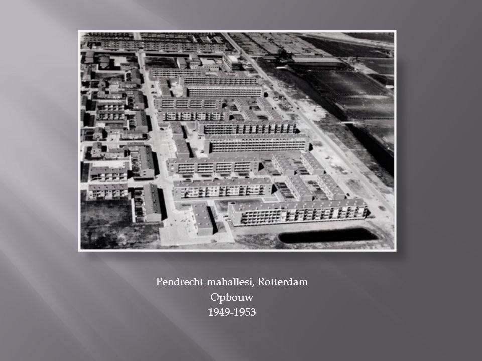Pendrecht mahallesi, Rotterdam Opbouw 1949-1953