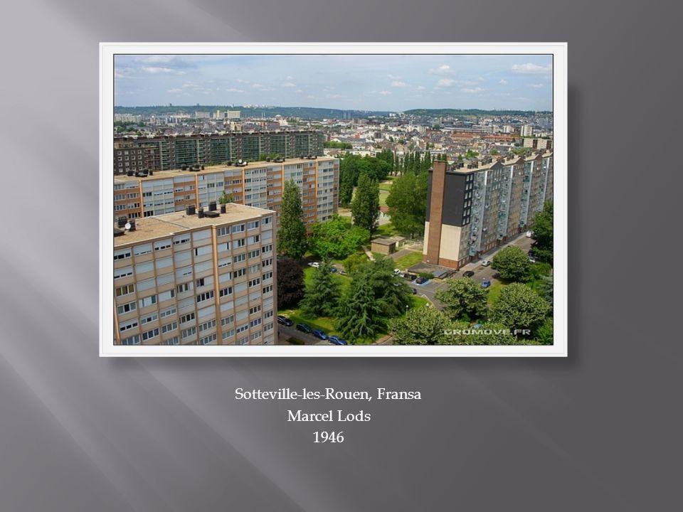 Sotteville-les-Rouen, Fransa Marcel Lods 1946