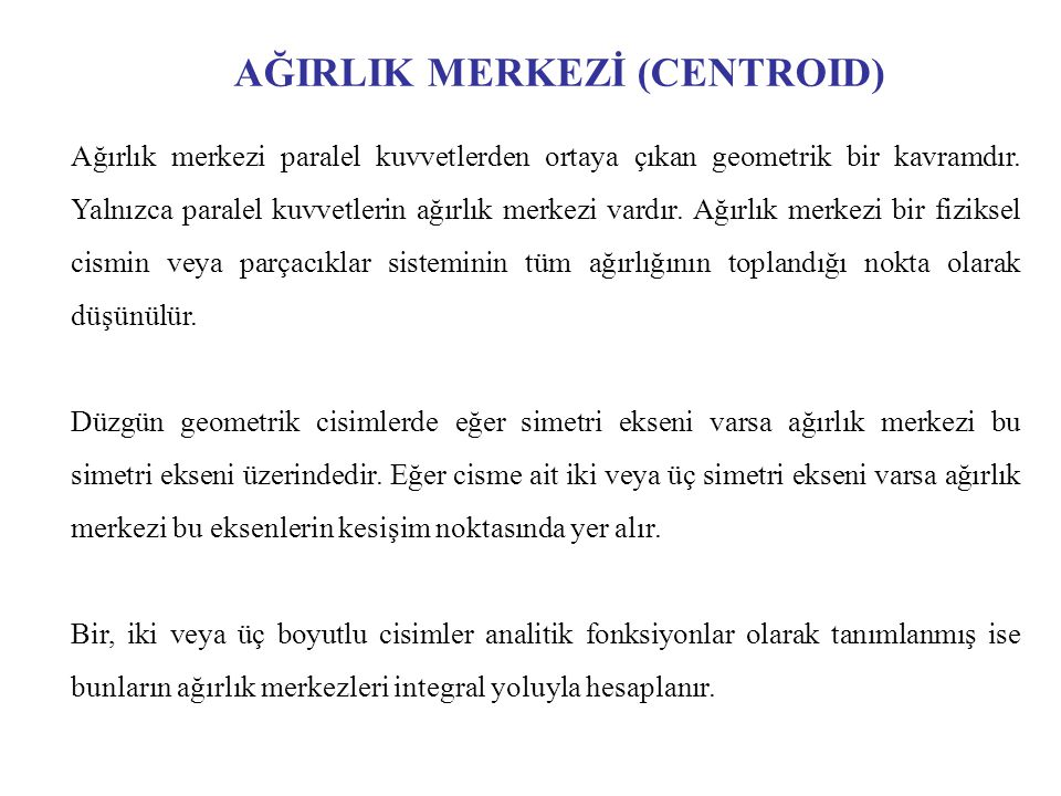 Asal Atalet Eksenleri ve Asal Atalet Momentleri (Principal Axes and Principal Moments of Inertia) veriliyor.