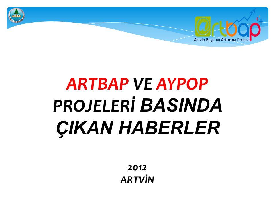 08.02.2012 TARİHLİ ARTVİN'İN SESİ GAZETESİ