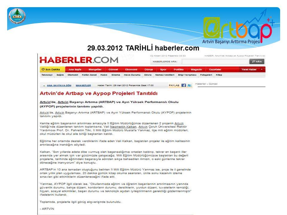 29.03.2012 TARİHLİ haberler.com