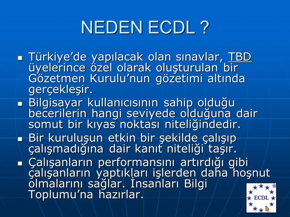 NEDEN ECDL .