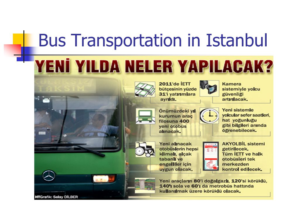 Bus Transportation in Istanbul