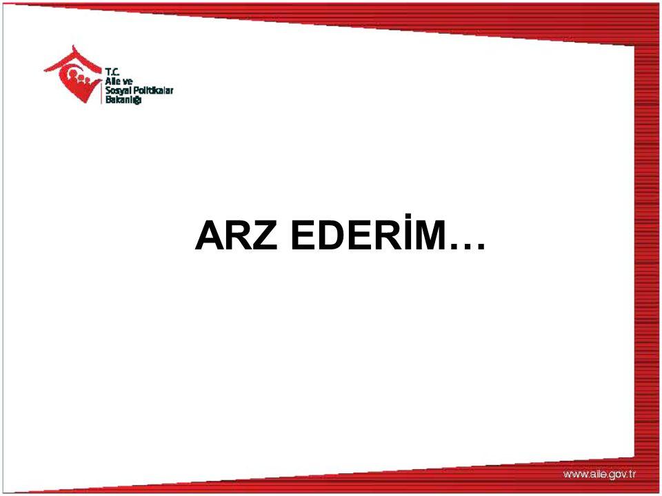 ARZ EDERİM…