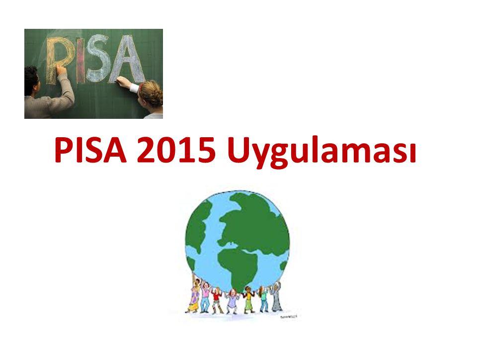 PISA 2015 Uygulaması