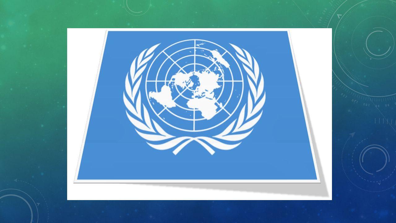 BİRLEŞMİŞ MİLLETLER 24 Ekim 1945 Birleşmiş Milletler Örgütünün Kuruluş Tarihidir.