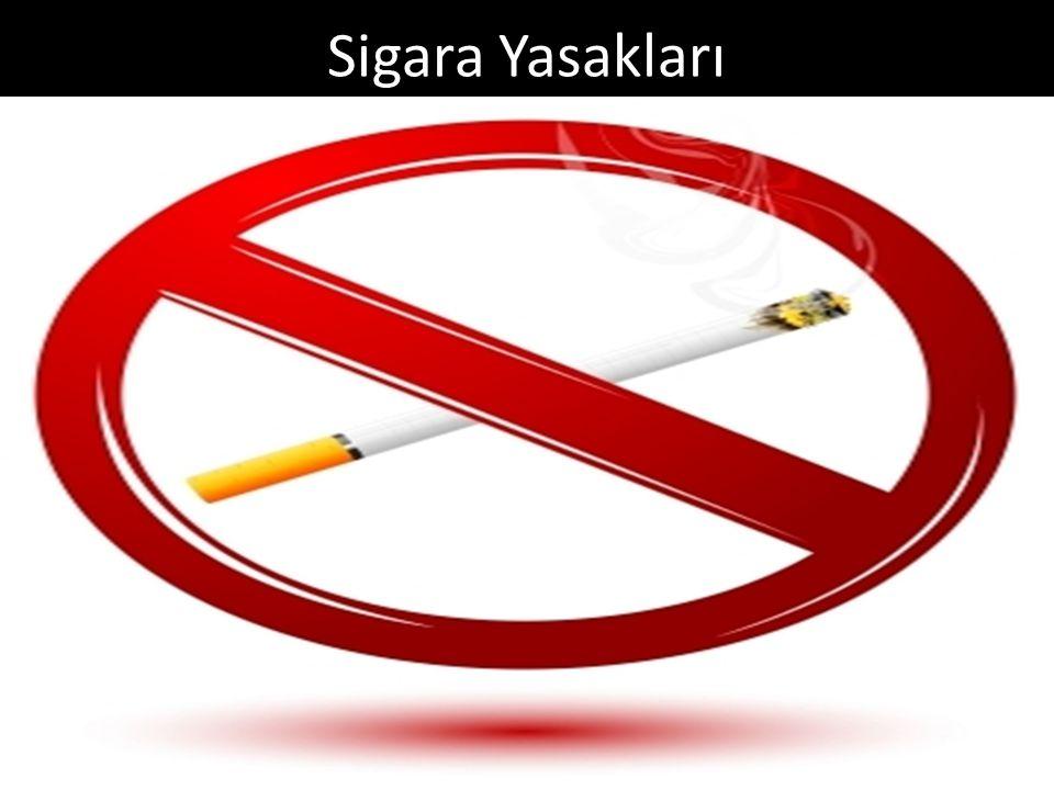 Sigara Yasakları