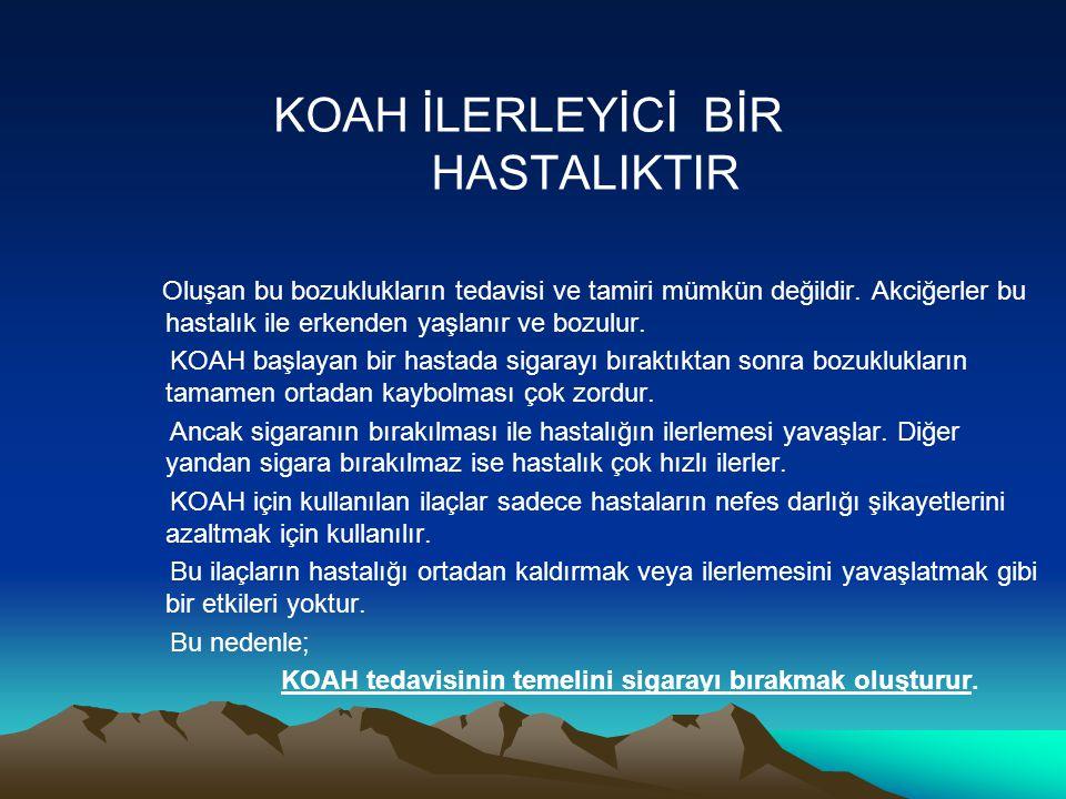 KOAH NASIL TEŞHİS EDİLİR .