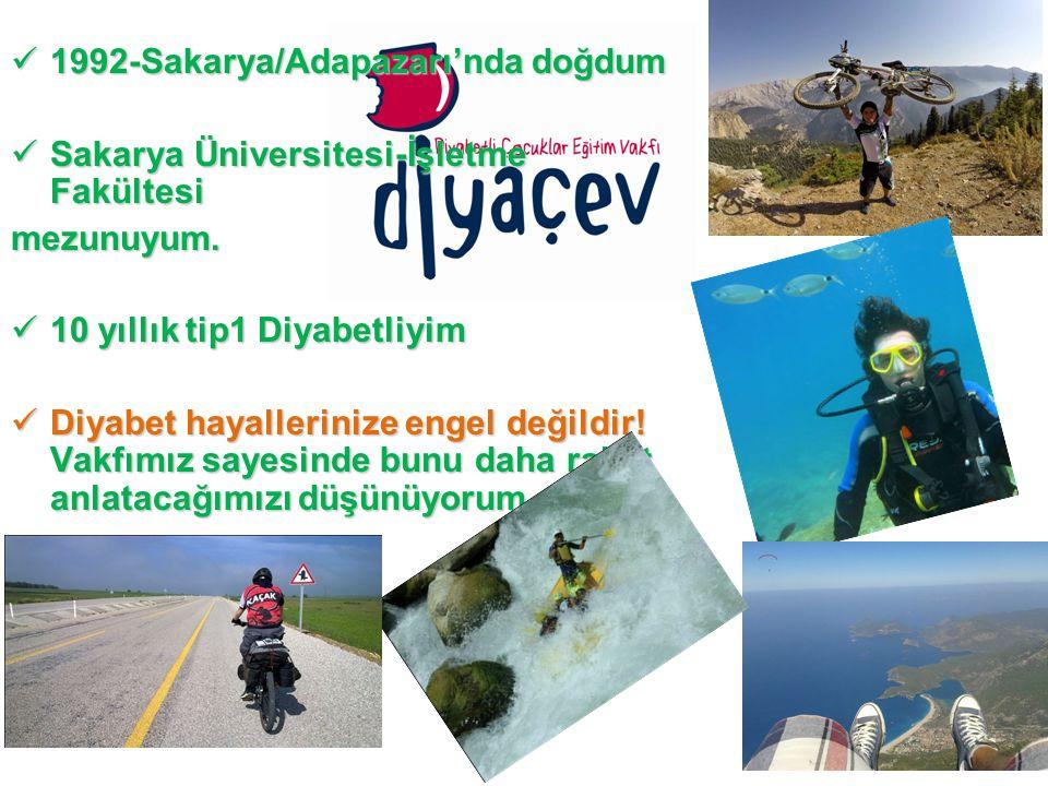 1992-Sakarya/Adapazarı'nda doğdum 1992-Sakarya/Adapazarı'nda doğdum Sakarya Üniversitesi-İşletme Fakültesi Sakarya Üniversitesi-İşletme Fakültesimezunuyum.