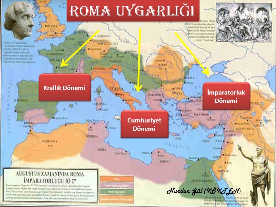 Roma şehri, efsaneye göre MÖ 753 yılında Romulus tarafından kurulmuştur.