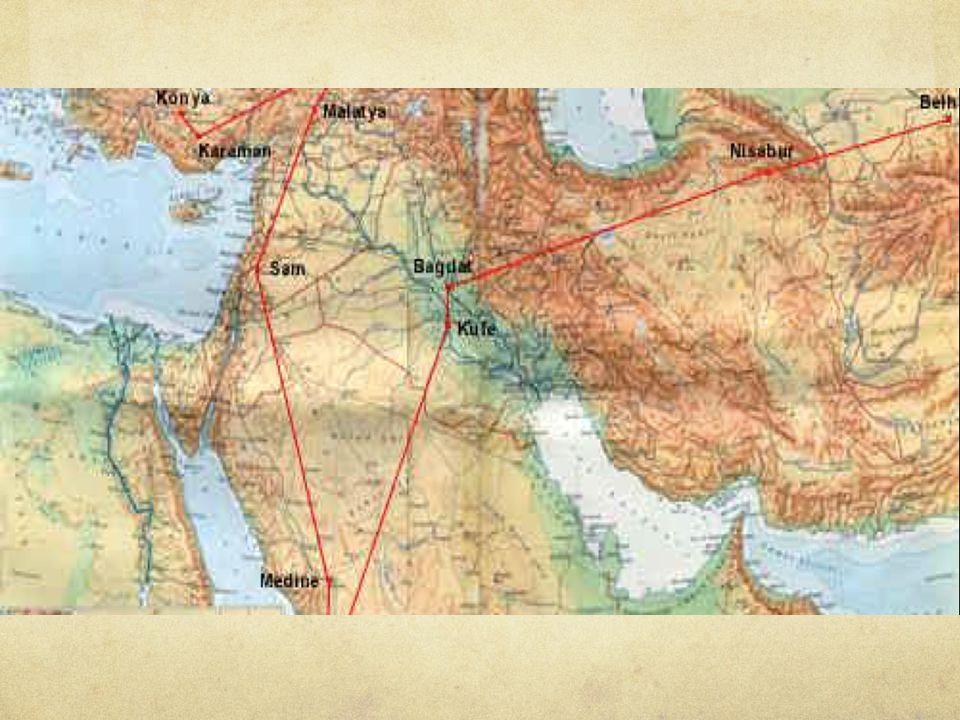 Mevlana 1225 yılında Ş erefeddin Lala'nın kızı Gevher hatun ile Karaman'da evlendi.