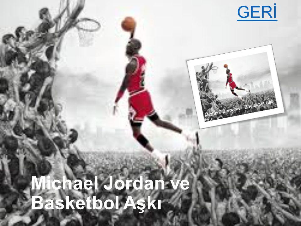 Michael Jordan in Yeteneği  Kuzey Karolina Üniversitesi ndeki dikkat çekici performansından sonra, NBA takımlarından 1984 yılındaki NBA Draft ında Chicago Bullstarafından seçilerek bu takıma katıldı.