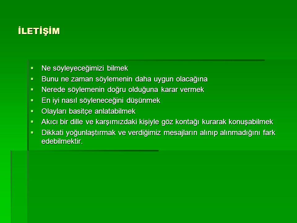 KAYNAKLAR 1.)akademik.maltepe.edu.tr 2.)www.ilkadımdergisi.com3.)www.rehperlikportalı.com4.)www.hacettepe.edu.tr5.)www.cankirivakfi.com Sağlık Slaytlarıhttp://hastaneciyiz.blogspot.com