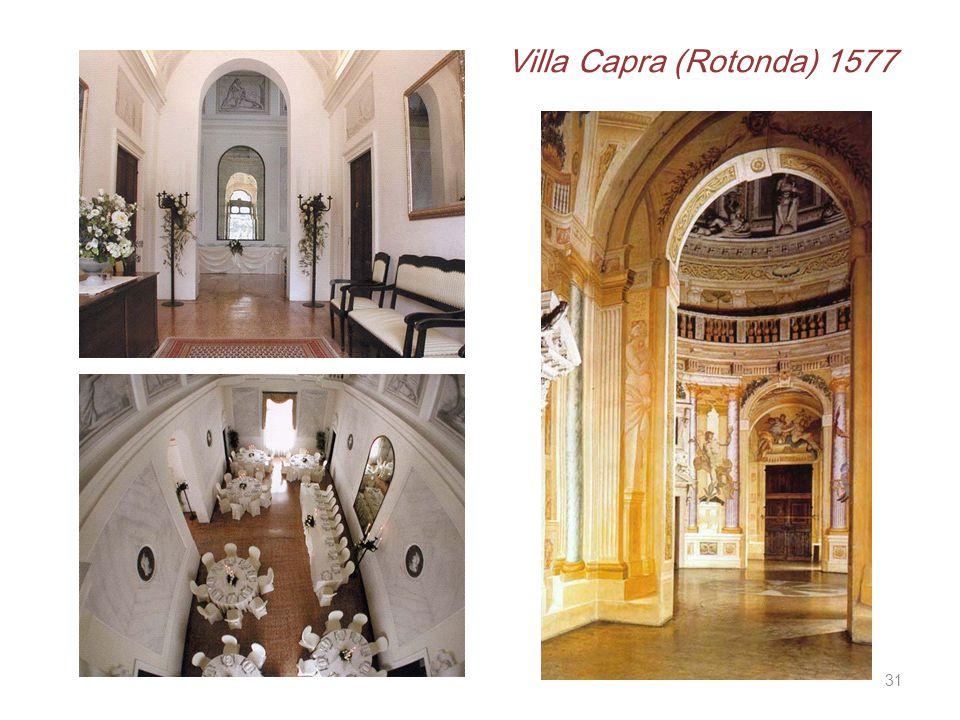Villa Capra (Rotonda) 1577 31