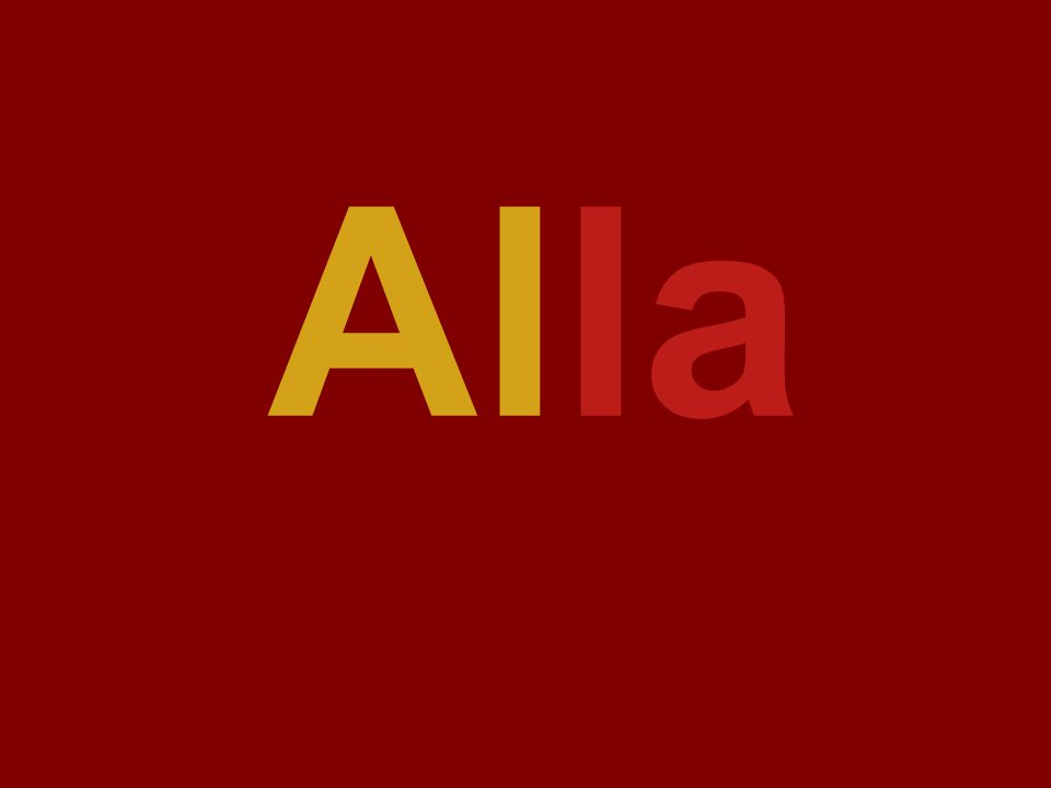 lale lala Alla