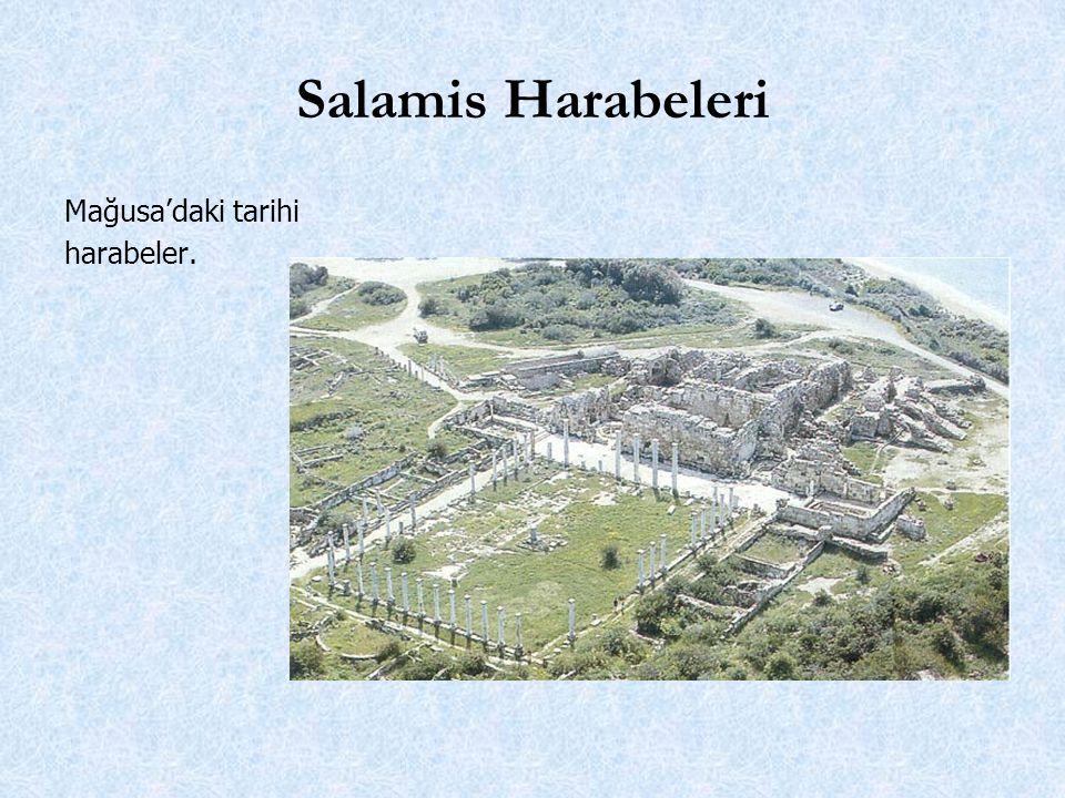 Salamis Harabeleri Mağusa'daki tarihi harabeler.
