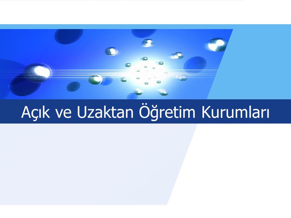 LOGO Açık ve Uzaktan Öğretim Kurumları www.auzef.İstanbul.edu.tr