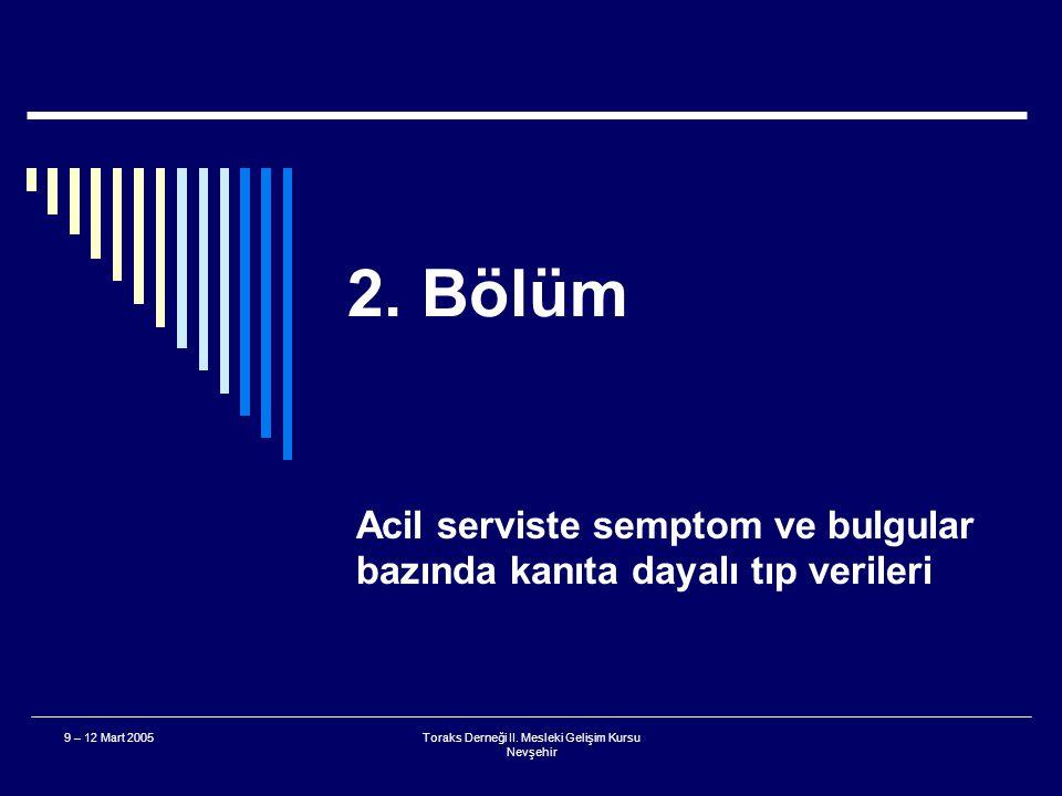 Toraks Derneği II. Mesleki Gelişim Kursu Nevşehir 9 – 12 Mart 2005 Ne Çıkarsa Bahtıma 400 Puan  Para nerede? A. Özefagus B. Trakea